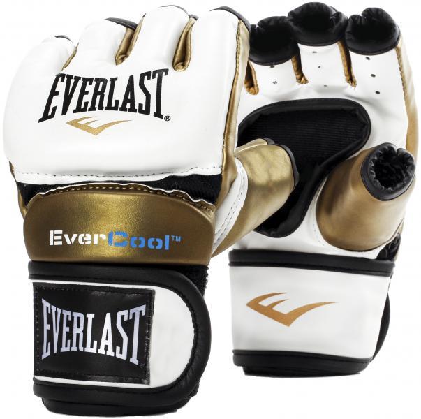 Перчатки тренировочные Everlast Everstrike White/Gold Everlast