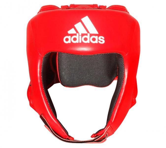 Шлем боксерский Hybrid 50 Head Guard красный Adidas