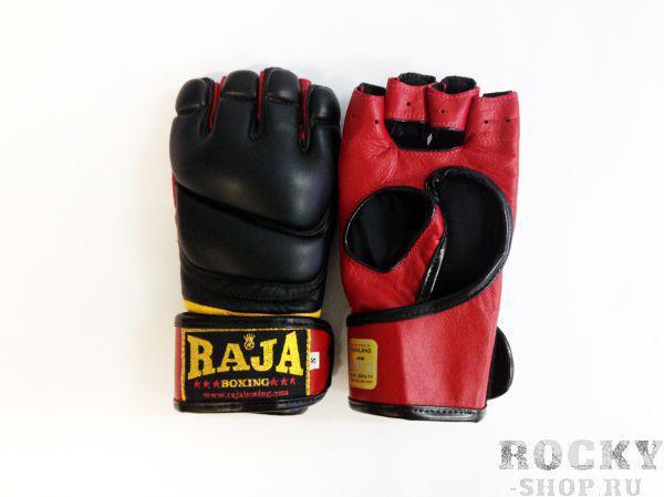 Купить Перчатки MMA, липучка Raja размер m черный (арт. 383)
