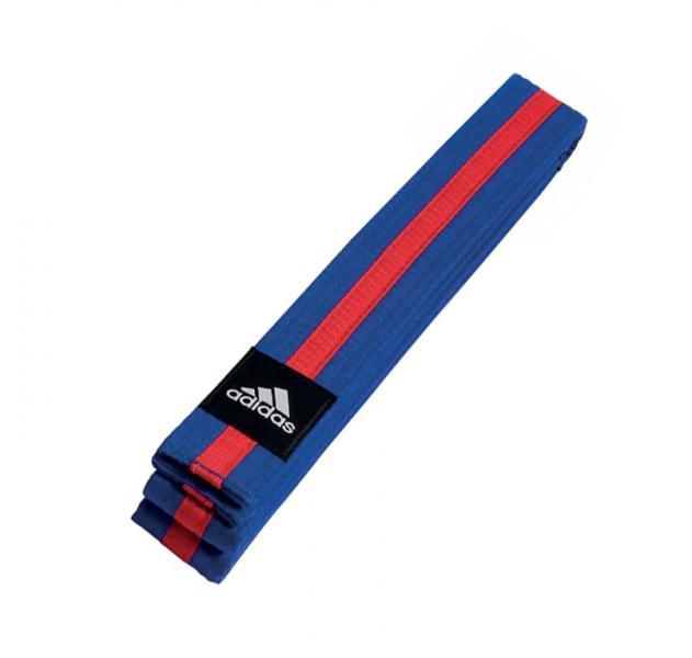 Пояс для единоборств Striped Belt сине-красный Adidas