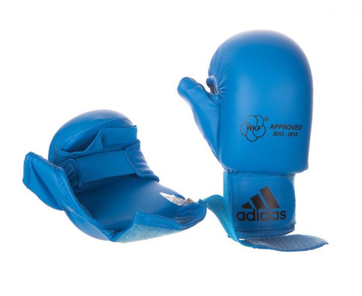 Накладки для карате WKF Bigger Thumb синие Adidas