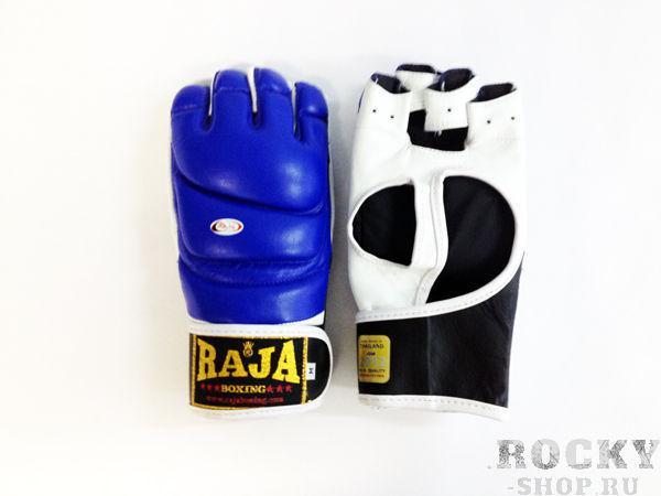 Купить Перчатки MMA, липучка Raja размер m синий (арт. 384)