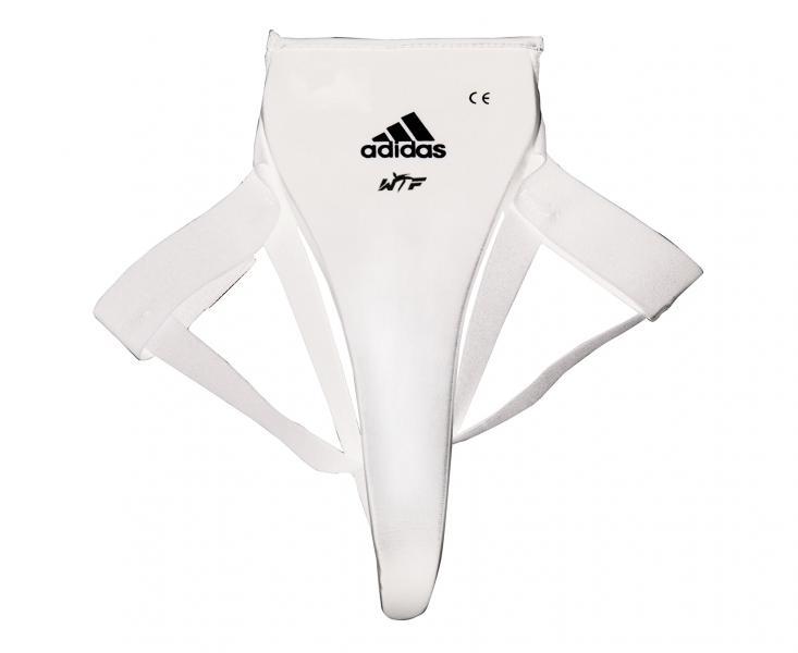 Купить Защита паха женская WTF Woman Groin Guard Adidas белая (арт. 3846)
