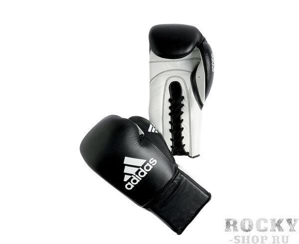 Купить Перчатки боксерские Combat Competition черные Adidas (арт. 3849)