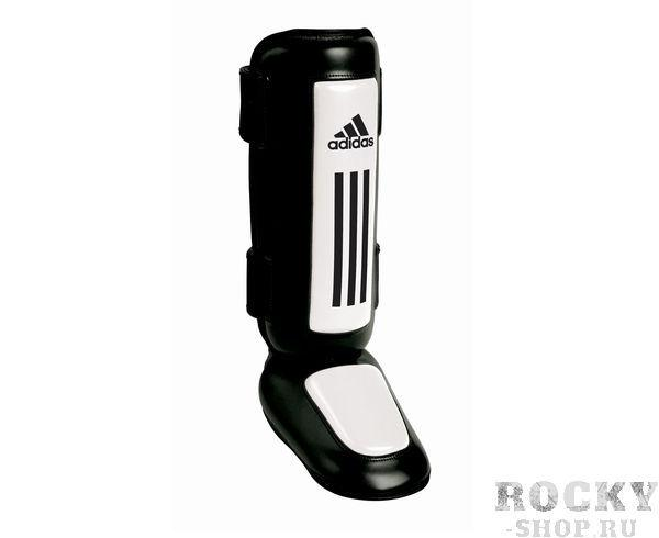 Купить Защита голени и стопы Thai Shin Instep черно-белая Adidas (арт. 3857)