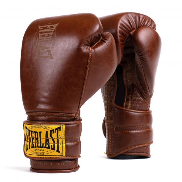Перчатки тренировочные Everlast 1910 Classic Brown, 16 oz Everlast
