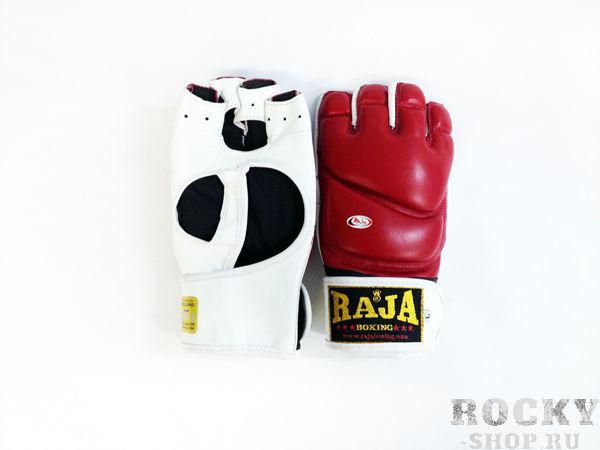 Купить Перчатки MMA, липучка Raja размер l красный (арт. 386)
