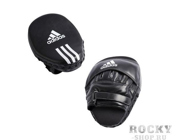 Купить Лапы Training Curved Focus Mitts Short черные Adidas (арт. 3882)