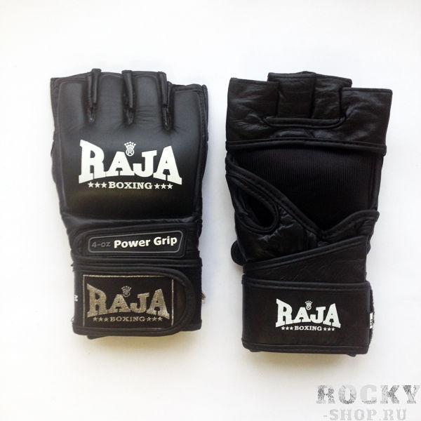 Купить Перчатки MMA, липучка Raja черный размер m (арт. 389)