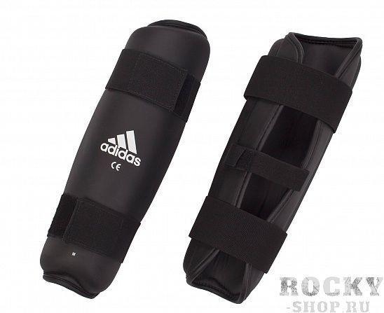 Купить Защита голени PU Shin Guard Adidas черная (арт. 3904)