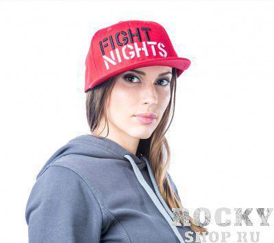 Купить Бейсболка Fight Nights Лого New Era красная (арт. 3939)