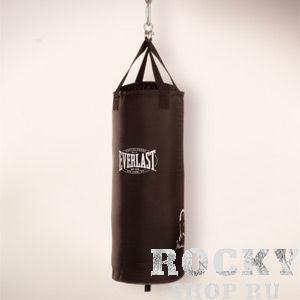Мешок боксерский Everlast Ali Canvas Heavy Bag 33 EverlastСнаряды для бокса<br>Everlast Ali Canvas Heavy Bag - классический тяжелый мешок, изготовленный из плотного синтетического брезента, что гарантирует огромный запас прочности и высокую износоустойчивость. В качестве набивки используется просеянный песок и смесь натуральных и синтетических волокон, благодаря чему достигается отличная амортизация даже самых мощных ударов. Габариты: 33 x 100, 32 кг.<br>