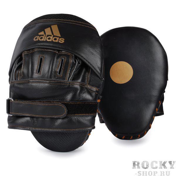 Купить Боксерские лапы изогнутые Adidas черные (арт. 3958)