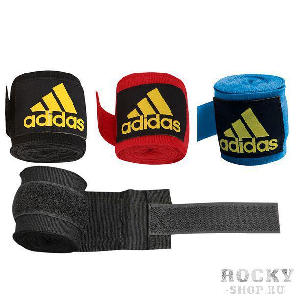 Бинт боксерский, 3,5 м AdidasБоксерские бинты<br>Эластичный боксёрский бинт на липучке. <br> Ширина 5 см<br> Длина 3,5 метра<br> Крепление на липучке<br> Эластичный материал обеспечивает максимальную фиксацию<br><br>Цвет: Красный