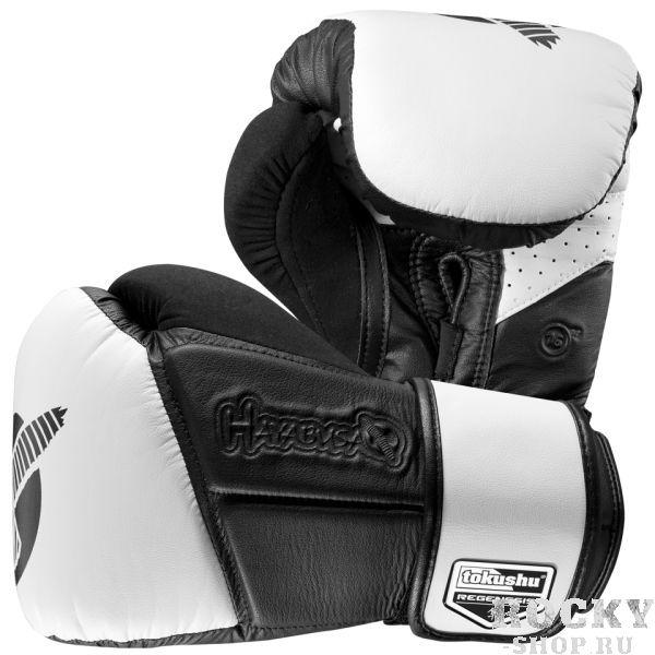 Купить Перчатки боксерские Hayabusa Tokushu Regenesis 16oz Gloves Black / White 16 oz (арт. 4030)