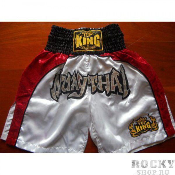 Шорты для кикбоксинга TKKBT-017 Top KingШорты для тайского бокса/кикбоксинга<br>Отличные шорты для кикбоксинга версии К-1 от Top King. Сделано в Тайланде.<br><br>Размер INT: XL