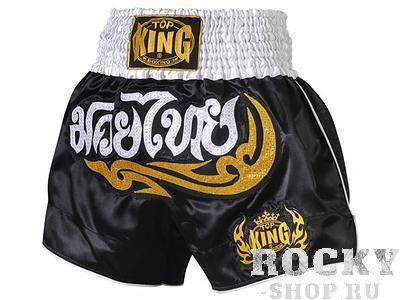 Шорты тайские Top King TKTBS-007 Top KingШорты для тайского бокса/кикбоксинга<br>Отличные шорты для тайского бокса от Top King.Сделано в Тайланде.<br>