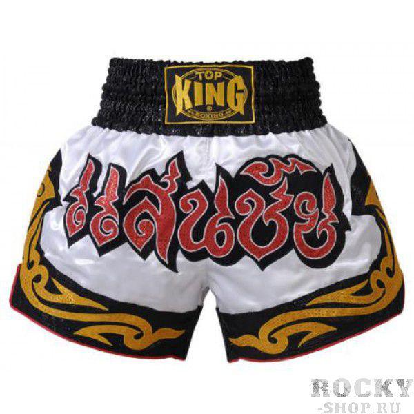 Шорты тайские Top King TKTBS-024 Top KingШорты для тайского бокса/кикбоксинга<br>Отличные шорты для тайского бокса от Top King. Сделано в Тайланде.<br><br>Размер INT: L