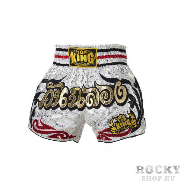 Шорты тайские Top King TKTBS-059 Top KingШорты для тайского бокса/кикбоксинга<br>Отличные шорты для тайского бокса от Top King. Сделано в Тайланде.<br><br>Размер INT: L