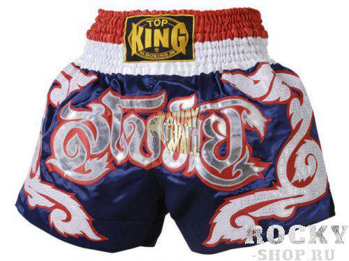 Шорты тайские Top King TKTBS-017 Top KingШорты для тайского бокса/кикбоксинга<br>Отличные шорты для тайского бокса от Top King. Сделано в Тайланде.<br><br>Размер INT: XL