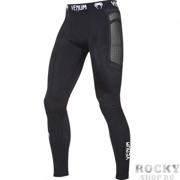 Купить Компрессионные штаны Venum Absolute Compression Spats - Dark Grey (арт. 4063)
