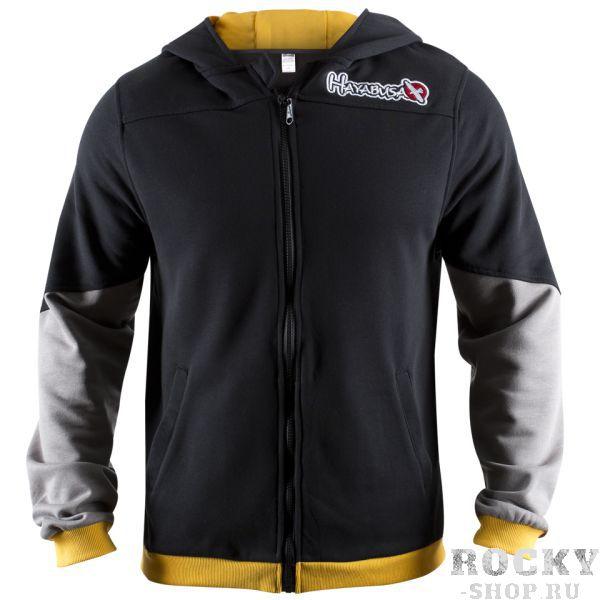Купить Олимпийка Hayabusa Wingback Hoodie Black/Grey/Yellow (арт. 4064)