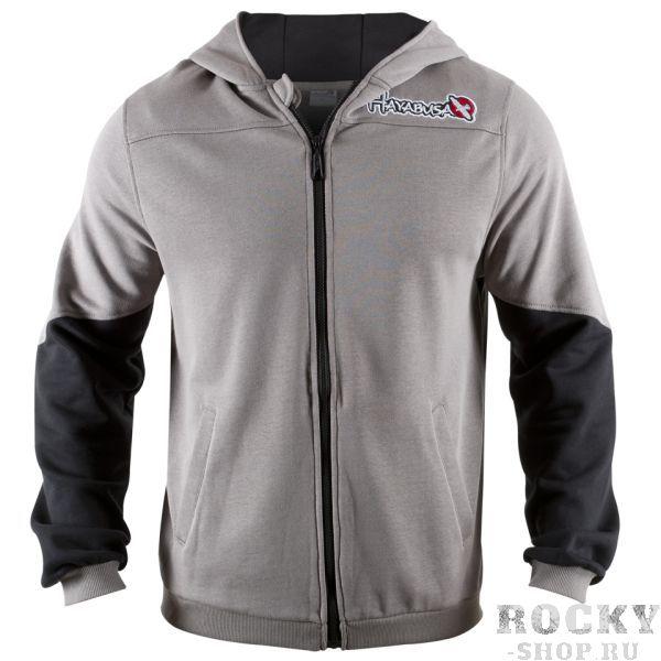 Олимпийка Hayabusa Wingback Hoodie Grey/Black HayabusaТолстовки / Олимпийки<br>Новинка весеннего сезона - олимпийка&amp;nbsp;Hayabusa Wingback Hoodie Grey/Black. Очень удобная классическая разноцветная олимпийка с капюшоном.&amp;nbsp;Обладает уникальным цветным дизайном рукавов, высококачественная вышивка на груди и премиум аппликация на спине.<br>