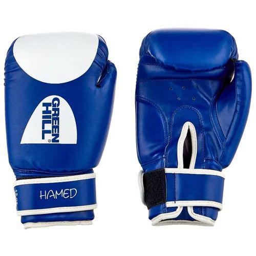 Боксерские перчатки hamed, 10 OZ Green HillБоксерские перчатки<br>Магазин Rocky представляет Вам отличный выбор для начинающих спортсменов - боксерские перчатки серии Hamed Green Hill. Эти перчатки помогут сберечь соперника от травм на тренировках и получить истинное удовольствие от бокса. <br>10 унций,<br><br>Высококачественный кожзаменитель,<br><br>Подходят для бокса, кикбоксинга и тайского бокса,<br><br>Одна из самых низких цен на боксерские перчатки<br><br>Цвет: синий