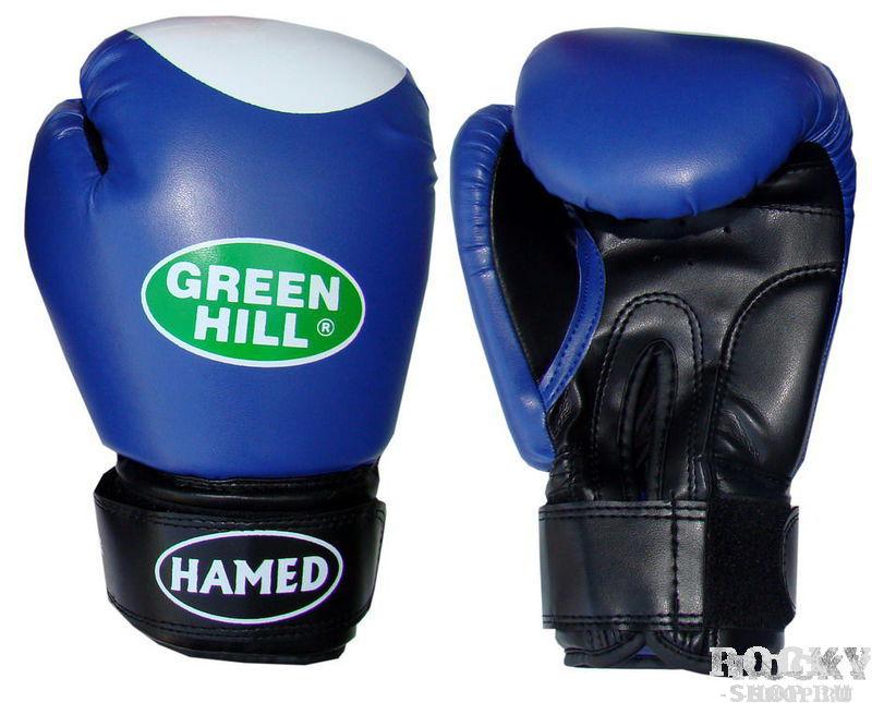 Боксерские перчатки hamed, 12 OZ Green Hill