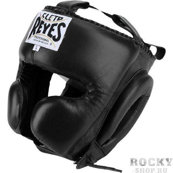 Шлем боксерский, тренировочный, Размер L Cleto ReyesБоксерские шлемы<br>Идеальная анатомическая форма<br> Многослойный наполнитель из латексной пены<br> Удобная конструкция крепления<br> Хороший обзор<br> Материал - 100% кожа<br><br>Цвет: Красный