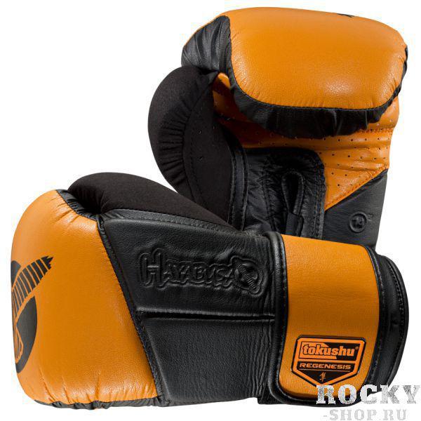 Купить Перчатки боксерские Hayabusa Tokushu® Regenesis 14oz Gloves Black / Orange 14 oz (арт. 4083)