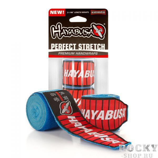 Бинты боксерские Hayabusa Perfect Stretch 2 Handwraps Blue HayabusaБоксерские бинты<br>Бинты боксерские Hayabusa Perfect Stretch 2 Handwraps Blueобеспечивают полную защиту Ваших рук и запястьев. Научно разработанные для возникновения травм рук и запястьев. Их просто обязаны иметь спортсмены, занимающиеся ММА, боксом или тайским боксом. В отличии от других бинтов, бинтыHayabusa Perfect Stretch 2 изготовлены из инновационного, высокоэффективного волокна для защиты суставов и костей на Ваших руках. Длина петли была увеличена на 71% для обеспечения надежной фиксации. Эти бинты - самые передовые на рынке. Наносите удары с уверенностью в бинтахHayabusa Perfect Stretch 2. Характеристики:Максимально производительные материалыСистема фиксации стала длиннее на 71%Ультра-мягкая конструкцияДлина 180 дюймовМожно стирать в машинке<br>