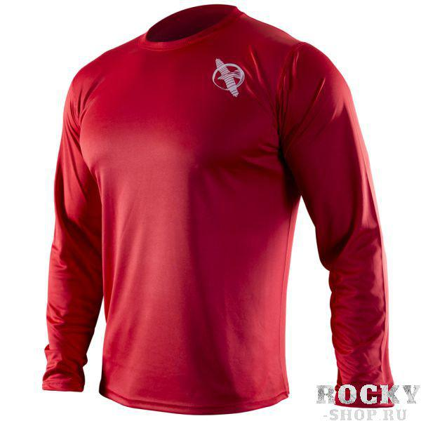 Футболка Hayabusa Kunren Training Shirt - Red HayabusaФутболки / Майки / Поло<br><br>