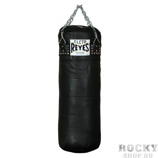 Мешок большой Cleto Reyes, 35 кг, кожа, Черный Cleto ReyesСнаряды для бокса<br>Топовый производитель боксерского снаряжения Cleto Reyes представляет новый мешок для тренировок профессиональных боксеров и продвинутых любителей. Высочайшее качество исполнения, ручная работа и профессиональная набивка позволят Вам получить истинное наслаждения от тренировки. <br>Сделано в Мексике<br><br>Натуральная кожа<br><br>Ручная работа<br><br>Подвеска цепи<br><br>Высочайшее качество<br><br>Длина 90 см<br><br>Вес 35 кг<br>