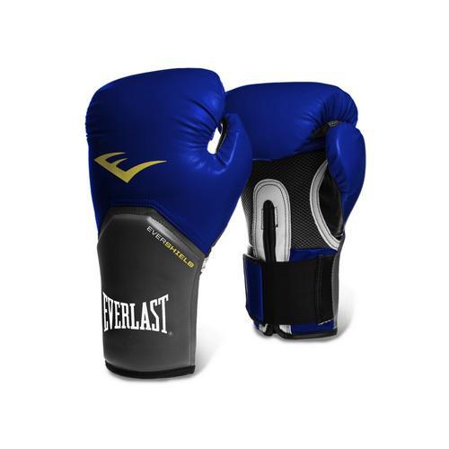 Перчатки боксерские Everlast Pro Style Elite, 8 OZ EverlastБоксерские перчатки<br>Everlast Pro Style Elite Training Gloves — тренировочные боксёрские перчатки для спаррингов и работы на снарядах. Изготовлены из качественной искусственной кожи с применением технологий Everlast, использующихся в экипировке профессиональных спортсменов. Благодаря выверенной анатомической форме перчатки надёжно фиксируют руку и гарантируют защиту от травм. Нижняя часть, полностью изготовленная из сетчатого материала, обеспечивает циркуляцию воздуха и препятствует образованию влаги, а также неприятного запаха за счёт антибактериальной пропитки EVERFRESH. Комбинация лёгких дышащих материалов поддерживает оптимальную температуру тела. Модель подходит для начинающих боксёров, которые хотят тренироваться с экипировкой высокого класса.<br><br>Цвет: черные