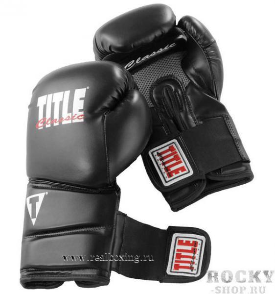 Купить Перчатки тренировочные TITLE CLASSIC REVOLUTION 12oz (арт. 4132)