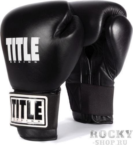 Перчатки тренировочные TITLE Boxing Eternal Pro , 12oz TITLE