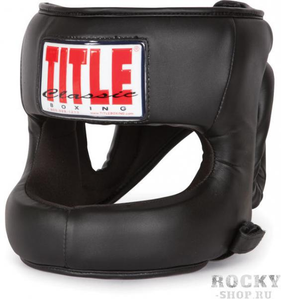 Шлем боксерский тренировочный TITLE CLASSICAL TITLEБоксерские шлемы<br>Причина уценки - ВИТРИННЫЙ образец. Немного растянуты петли снизу. Полная защита лица без ущерба удобству и обзорности. Легкий и удобный шлем. Изготовлен из высокопрочного искусственного материала, внутренняя часть выполнена из влагоотталкивающего материала приятного для лица, который так-же предотвращает провороты шлема на голове. Идеален для людей для которых не приемлемы повреждения лица (последствия спарринга), а также перенесших травму носа или костей лица.<br>