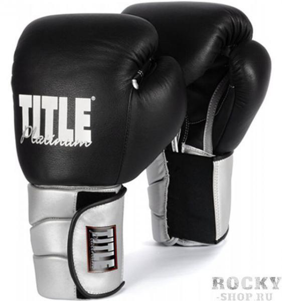 Купить Перчатки тренировочные TITLE Paramount Elastic 18oz (арт. 4177)