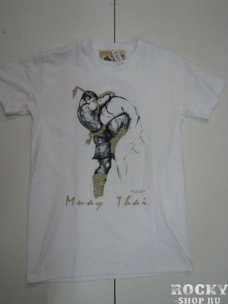 Футболка Knee Muay Thai WarriorsФутболки / Майки / Поло<br>100 % хлопок,Ручная работа,Производство Тайланд.<br>