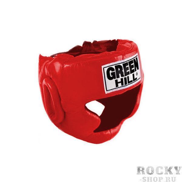Купить Шлем боксерский super Green Hill красный (арт. 432)