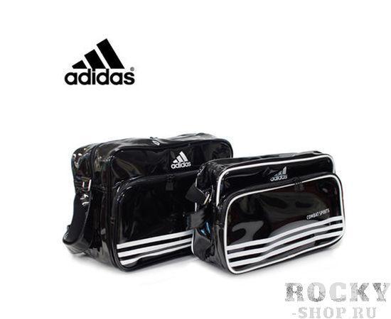 Купить Сумка спортивная Boxing Sport Bag L черно-белая Adidas (арт. 4372)
