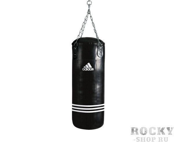 Мешок боксерский Bigger Fatter Bag черный, 120 x 40см, черный AdidasСнаряды для бокса<br>Maize. Тренировочный боксёрский мешок. Материал PU MAYA.<br><br>Цвет: черный