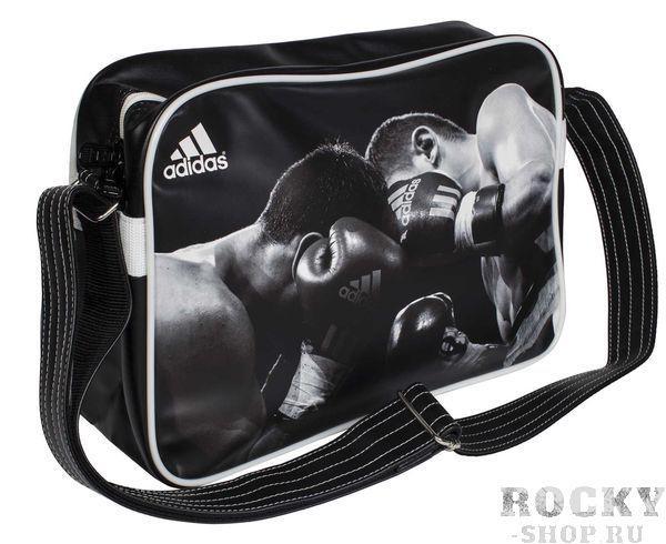Купить Сумка спортивная Sports Bag Boxing S Adidas черно-белая (арт. 4378)