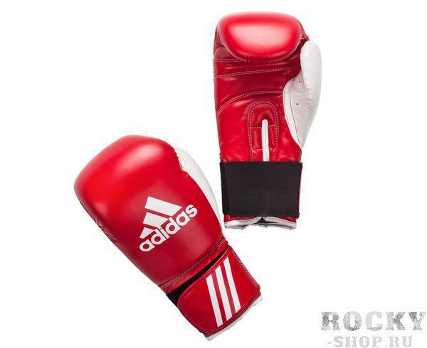 Перчатки боксерские Response, 8 унций AdidasБоксерские перчатки<br>Перчатки боксерские adidas Response розовые. Тренировочные боксерские перчатки на липучке. Полиуретан по технологии PU3G INNOVATION. Композитный литой вкладыш из пены высокого давления. Усиленная защита большого пальца, ладони, уcиление ударной зоны. Специальная жесткая манжета для защиты кисти.<br><br>Цвет: красно-белые