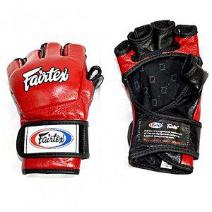 Перчатки для Mix Fight Fairtex, L FairtexПерчатки MMA<br>Самая удачная модель перчаток Fairtex предназначенных для смешанных единоборств. В 2008 году пречатки FGV13 получили Grand Prix (Гран При) от FIGHTERS ONLY World Mixed Martial Arts Awards 2008 и были признанны лучшими перчатками для смешанных единоборств 2008 года. Фиксация с помощью липучки. Эта модель выпускается с защитой большого пальца. Производство: Таиланд. Расцветка: черно-красный, черно-синий, красно-белый, бело-красный, синий-белый, бело-синий. Размер: M, L XL.<br><br>Цвет: Красный