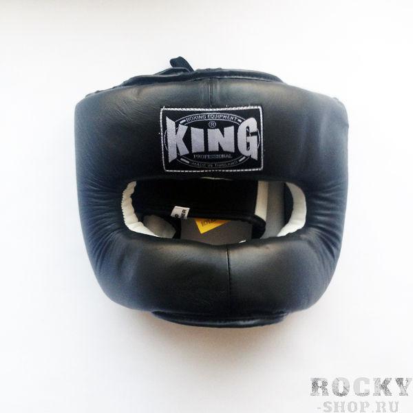 Шлем тренировочный, закрытый, Размер L KingБоксерские шлемы<br>Стальная, лицевая рама<br> Максимальная зашита (голова, лицо, челюсть, нос , подбородок)<br> Кожа премиум класса<br> Многослойный упругий материал<br> Широкое поле зрения<br><br>Цвет: Красный