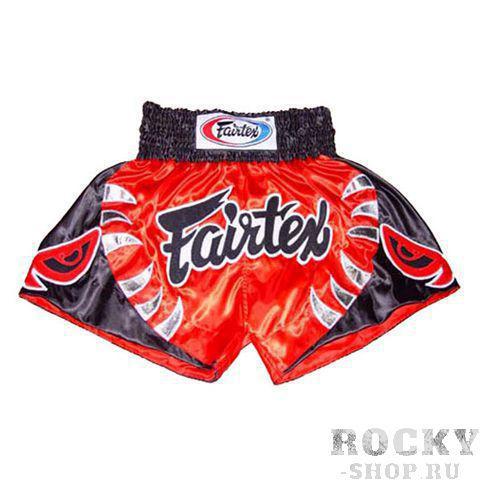 Шорты для тайского бокса Fairtex The Bite FairtexШорты для тайского бокса/кикбоксинга<br>Шорты&amp;nbsp;Fairtex The Bite. &amp;nbsp;Удобные, комфортные, стильные&amp;nbsp;шорты. Любимая в свое время модель бойца Fairtex&amp;nbsp;Yodsaenklai. &amp;nbsp;Они выполнены в классической тайской манере и удобны для&amp;nbsp;тренировок и поединков. <br><br>Сделано в&amp;amp;nbsp;Таиланде. <br>Материал -&amp;amp;nbsp;Сатин. <br>Цвет -&amp;amp;nbsp;красный.<br><br>Размер INT: XL