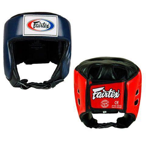 Шлем с закрытым верхом Fairtex, M Fairtex фото