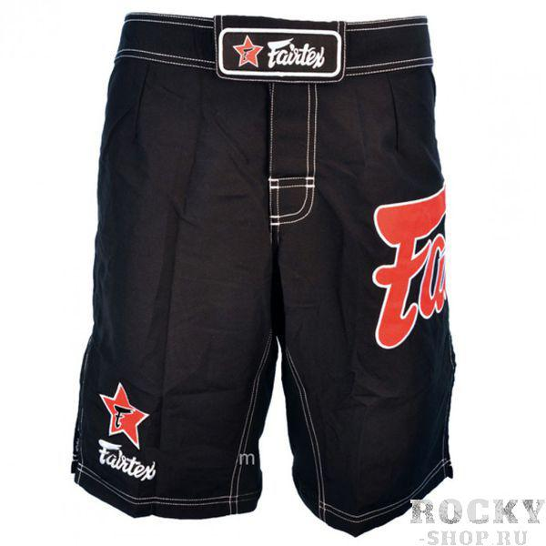Шорты MMA Fairtex FairtexШорты ММА<br>Это классические шорты Fairtex для различных видов спорта. Они одинаково хороши и для ММА, и для Грэпплинга, и для Муай Тай, и для пляжного отдыха. Удобны для активного отдыха на природе, пробежек или купания. Эластичные вставки на внутренней части шорт и разрезы по бокам не стесняют движение. Имеют фиксирующую липучку снаружи и завязки внутри. Производятся в Таиланде из хлопка высокого качества. Прослужат вам не один год. Цвет: черно-красный. Размер: S (44-46), M (48-50), L (52-54), XL (56-58).<br><br>Размер INT: XL